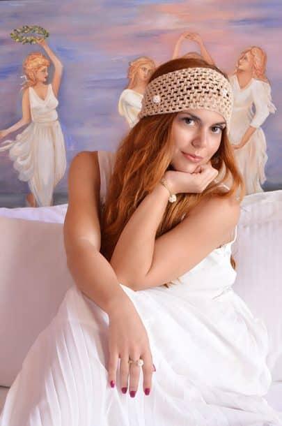hair accessory woman bride