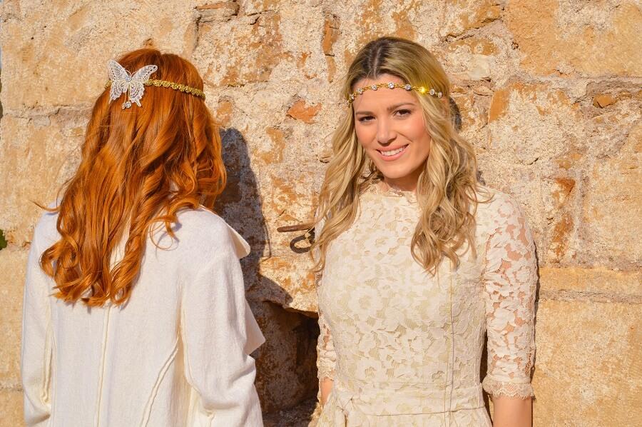 bride, headpiece, butterfly, lace, swarovski