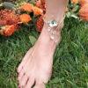 Swarovski Bracelet gold leg