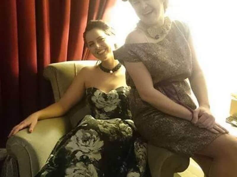 women, vintage, dresses, necklaces