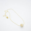 Pearls Necklace Gold