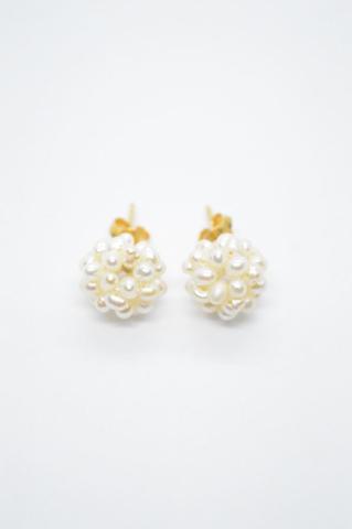 μαργαριτάρια σκουλαρίκια χρυσό