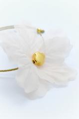 λουλουδι χρυσος σταυρος βραχιολι