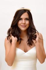 Μαργαριτάρια νύφη γυναίκα αξεσουάρ μαλλιών στέκα