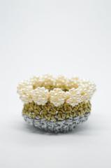 μαργαριτάρια χρυσό ασημί θήκη