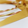 gold ribbon rose