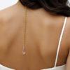 Lace Necklace gold swarovski