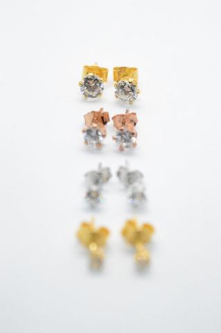 ζιργκόν σκουλαρίκια χρυσό