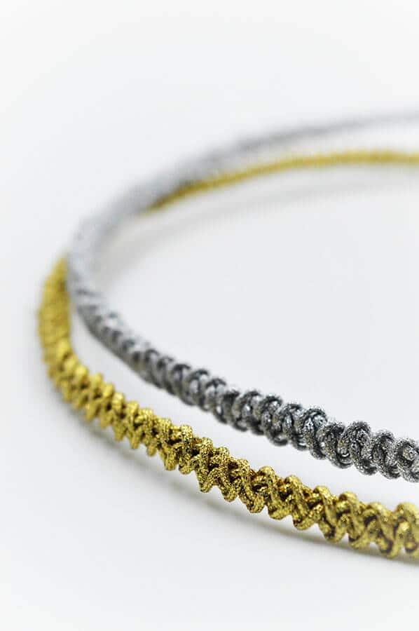 gold silver yarn