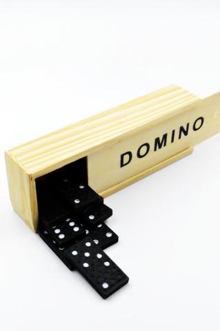ξυλινο κουτι μαυρο ασπρο