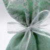 green lace pouch tulle ribbon bow
