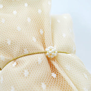 polka dot envelope pearls