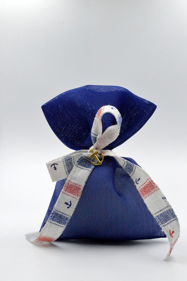 blue favor navy pouch
